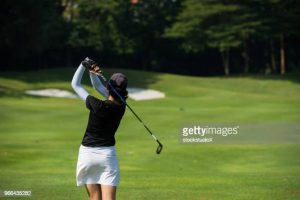 Business tips for women who play golf.
