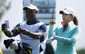 Cheyenne Woods meets Music Man and Breaks Course Record!