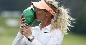 Who is Back in the Winner's Circle - One of my Favorite Female Players!