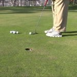 A great drill to teach yourself to sink 100% of your 3 to 4-foot putts!