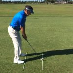 Learn the key to Aiming Straight on the Golf Course!