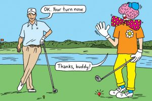 Are you a good golfing partner - Here are the do's and don'ts!