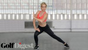 Avoid injury with these golf stretches by Paige Spiranac!