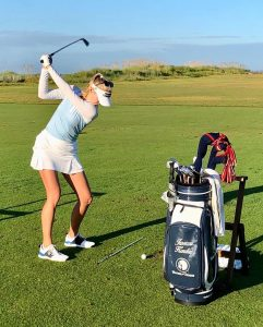 The Natural Way to grip the club - by Jessica Korda.