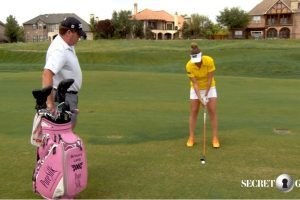 Brittany Lang shares some great putting tips.