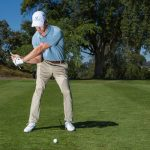 The downswing starts from the ground up - no question!