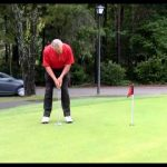 Want to improve your putting - Improve your aim!