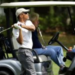 8 pictures you must see as Obama and Clinton tee off - I love #2