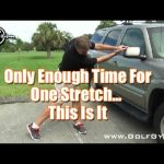 This Stretch is all you need - If you only have time for one!