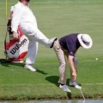 Some hilarious golf bloopers that could happen to you!
