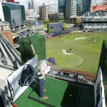 9 holes of golf in a ballpark - What a great idea!
