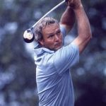 Body rotation is the key to real power - Watch Arnold Palmer!