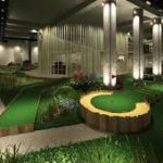 A Nightclub - Putt-Putt Course and WWII Bunker all in one!
