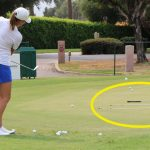 You can practice chipping it close in more ways than one!