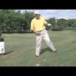 Uneven lies on the golf course Part 1 - The uphill lie!